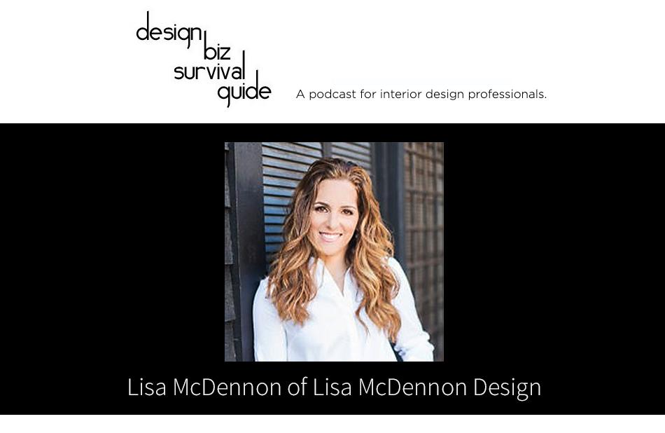 Meet Lisa McDennon, IDI Graduate, IDI Excellence in Design award winner & Accomplished Interior Designer