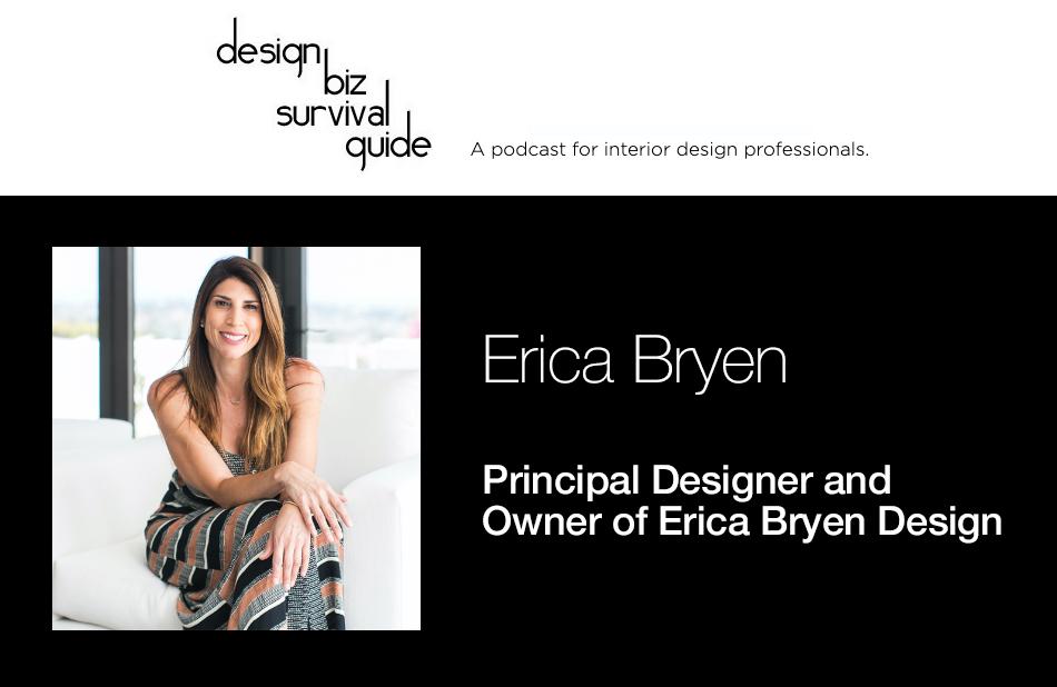 Meet Erica Bryen – IDI Graduate, Principal Designer and Owner of Erica Bryen Design